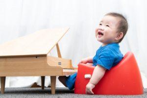 赤ちゃんとピアノ