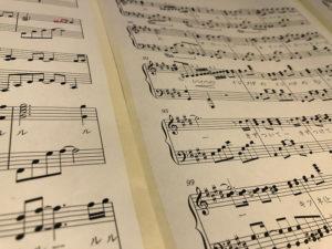 完成したBABYMETALの楽譜
