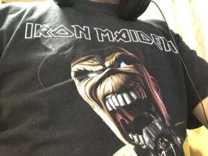 IronMaidenTシャツ