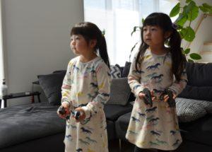姉妹でゲーム