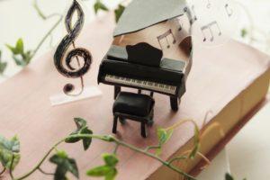 グランドピアノミニチュア