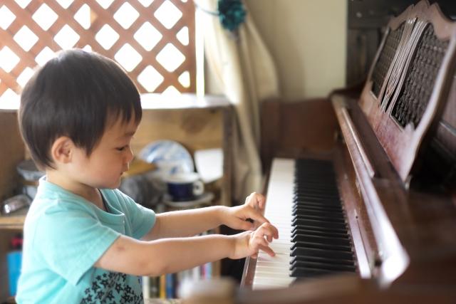 ピアノ楽しい