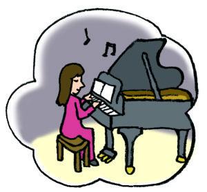 ピアニストのイメージ