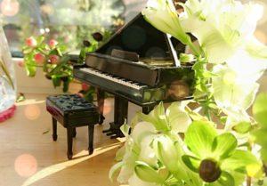 花の中のピアノ